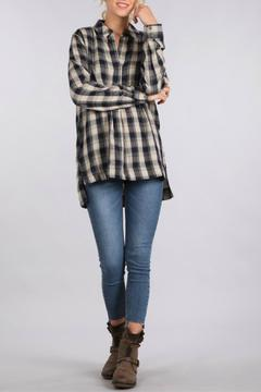 Shoptiques Product: Plaid Oversized Shirt