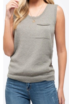 Blu Pepper Pocket Sweater Tank - Product List Image