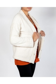 Blu Pepper Polar White Cardigan - Product Mini Image