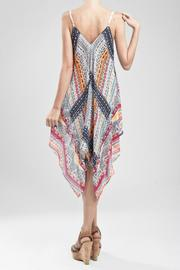 Blu Pepper Printed Dress - Front full body