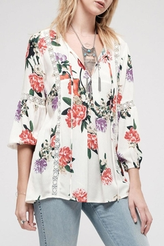 Shoptiques Product: Show-Love Floral Tunic