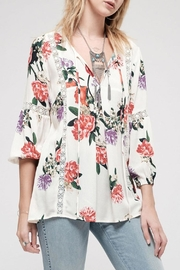 Blu Pepper Show-Love Floral Tunic - Product Mini Image