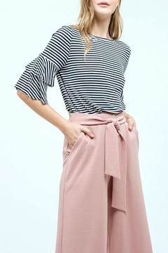 Blu Pepper Striped Bow-Back Top - Product List Image