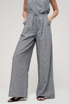 Blu Pepper Striped Wide Leg - Product List Image