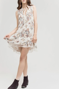 Blu Pepper Tan Floral Dress - Product List Image