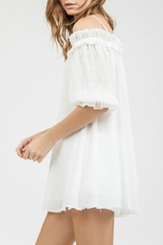 Blu Pepper One Off Shoulder Dress - Side cropped