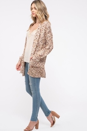 Blu Pepper Textured Marbled Cardigan - Product Mini Image