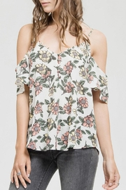 Blu Pepper The Grove Top - Front cropped