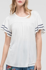 Blu Pepper The Wanderlust Top - Front cropped