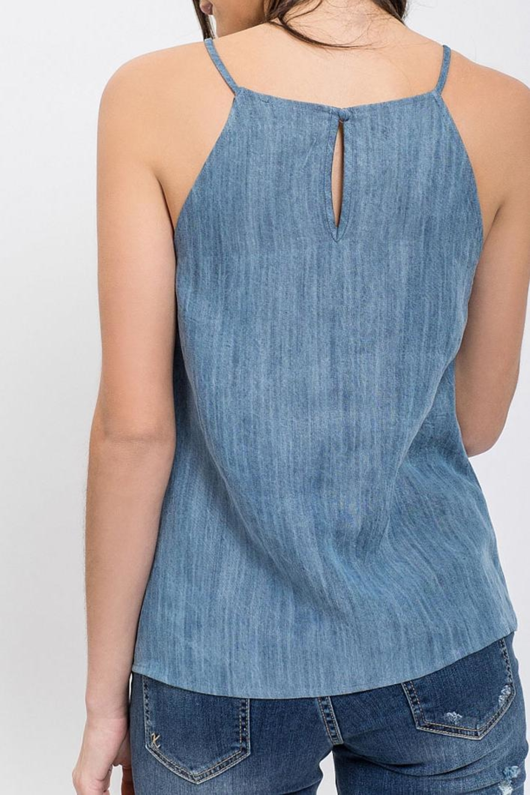 Blu Pepper Verona Embroidered Top - Front Full Image
