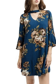 Blu Pepper Woven Floral Dress - Product Mini Image