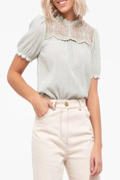 Shoptiques Product: Wrinkle Effect Top
