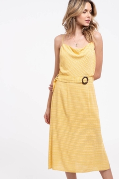 Blu Pepper Yellow Spotted Midi - Product List Image