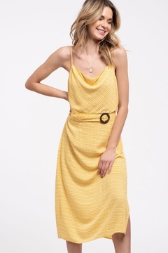 Blu Pepper Yellow Spotted Midi - Alternate List Image