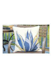 RIGHT SIDE DESIGN Blue Agave Pillow - Outdoor Sunbrella - Product Mini Image