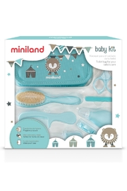 Miniland Blue Baby Kit - Front cropped