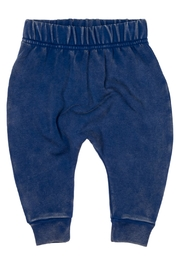 Rock Your Baby Blue Baby Trousers - Front cropped