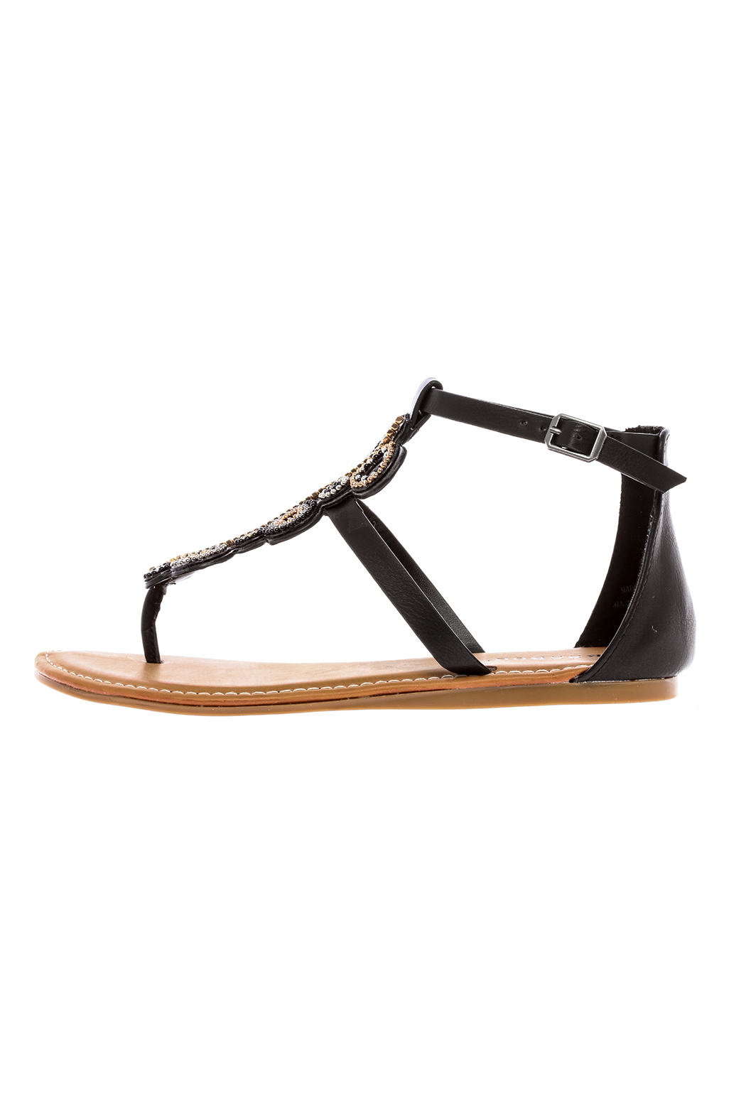 blue bag boutique Gia Sandal - Front Cropped Image