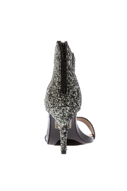 blue bag boutique Glitter Pump - Front full body