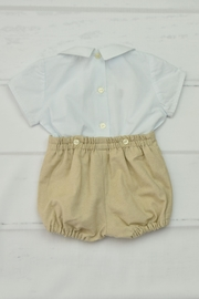 Granlei 1980 Blue & Beige Outfit - Front full body