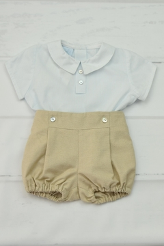 Shoptiques Product: Blue & Beige Outfit