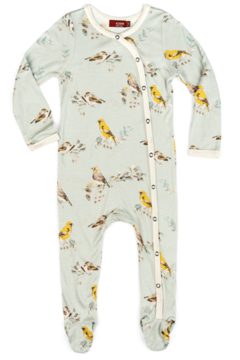 Shoptiques Product: Blue Bird Footed Romper