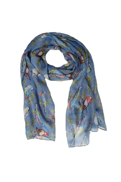 Shoptiques Product: Blue Birds Scarf