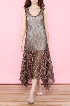 Shoptiques Product: Sheer Brown Dress