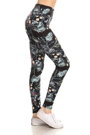 Leg Avenue Blue Butterfly Leggings - Product Mini Image