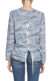 Elan Blue Camo Top - Product Mini Image