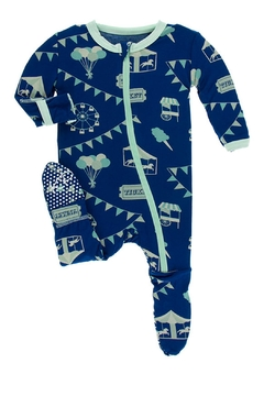 Shoptiques Product: Blue Carnival Footie