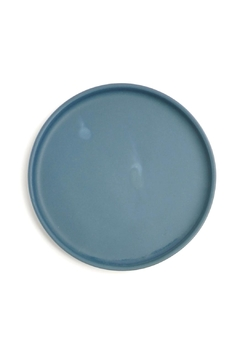 Shoptiques Product: Blue Ceramic Tray