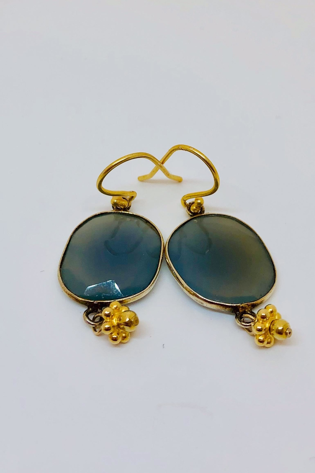 Jill Duzan Blue Chalcedony - Front Cropped Image