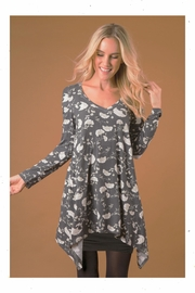 Simply Noelle Blue Cold-Shoulder Tunic - Product Mini Image