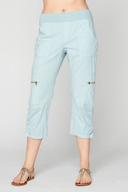 XCVI Blue Cropped Pant - Product Mini Image