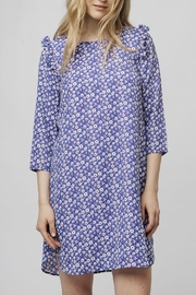 Compania Fantastica Blue Daisy Dress - Product Mini Image