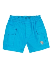 Paul Smith Junior Blue-Danube 'Toby' Shorts - Product Mini Image