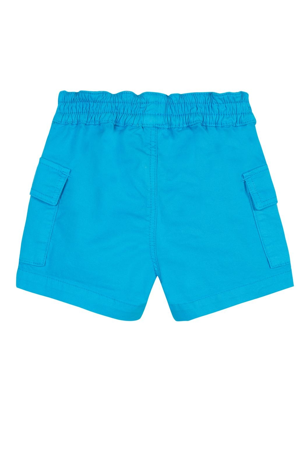 Paul Smith Junior Blue-Danube 'Toby' Shorts - Front Full Image