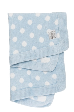 LITTLE GIRAFFE Blue Dot Blanket - Alternate List Image