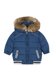 Tartine et Chocolat Blue Down Jacket - Product Mini Image