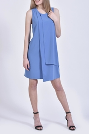 Mud Pie Blue Dress - Product Mini Image