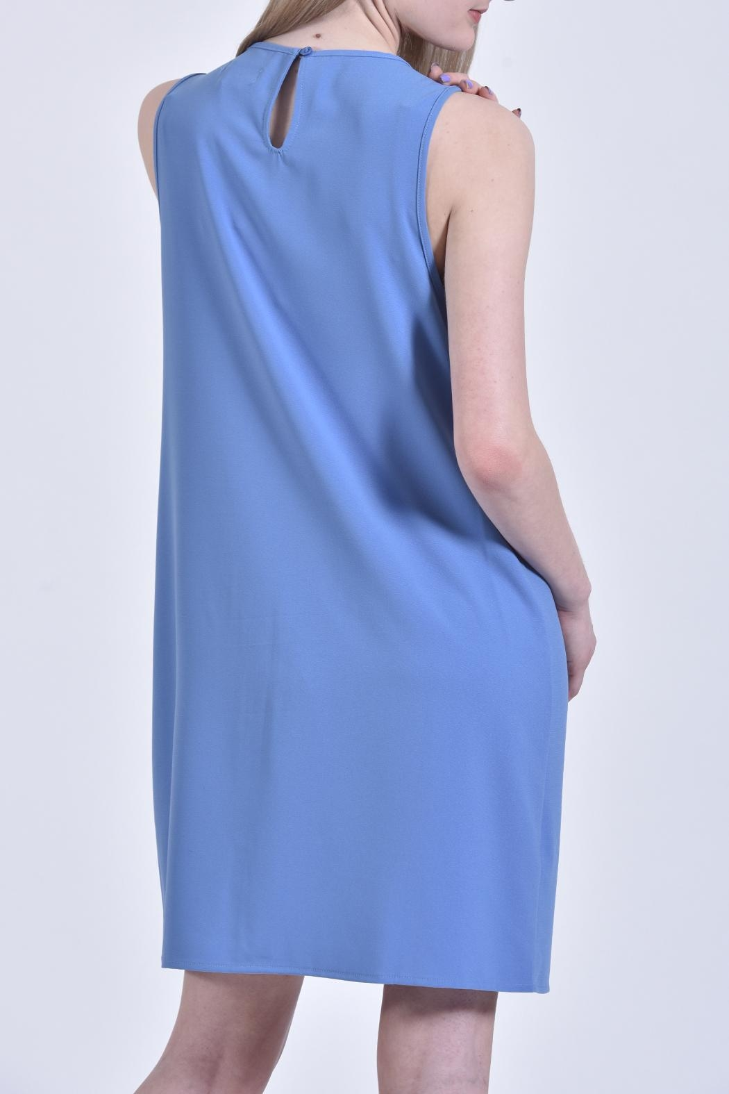 Mud Pie Blue Dress - Front Full Image