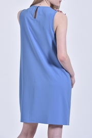 Mud Pie Blue Dress - Front full body