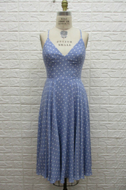 Ina Blue dress - Front cropped