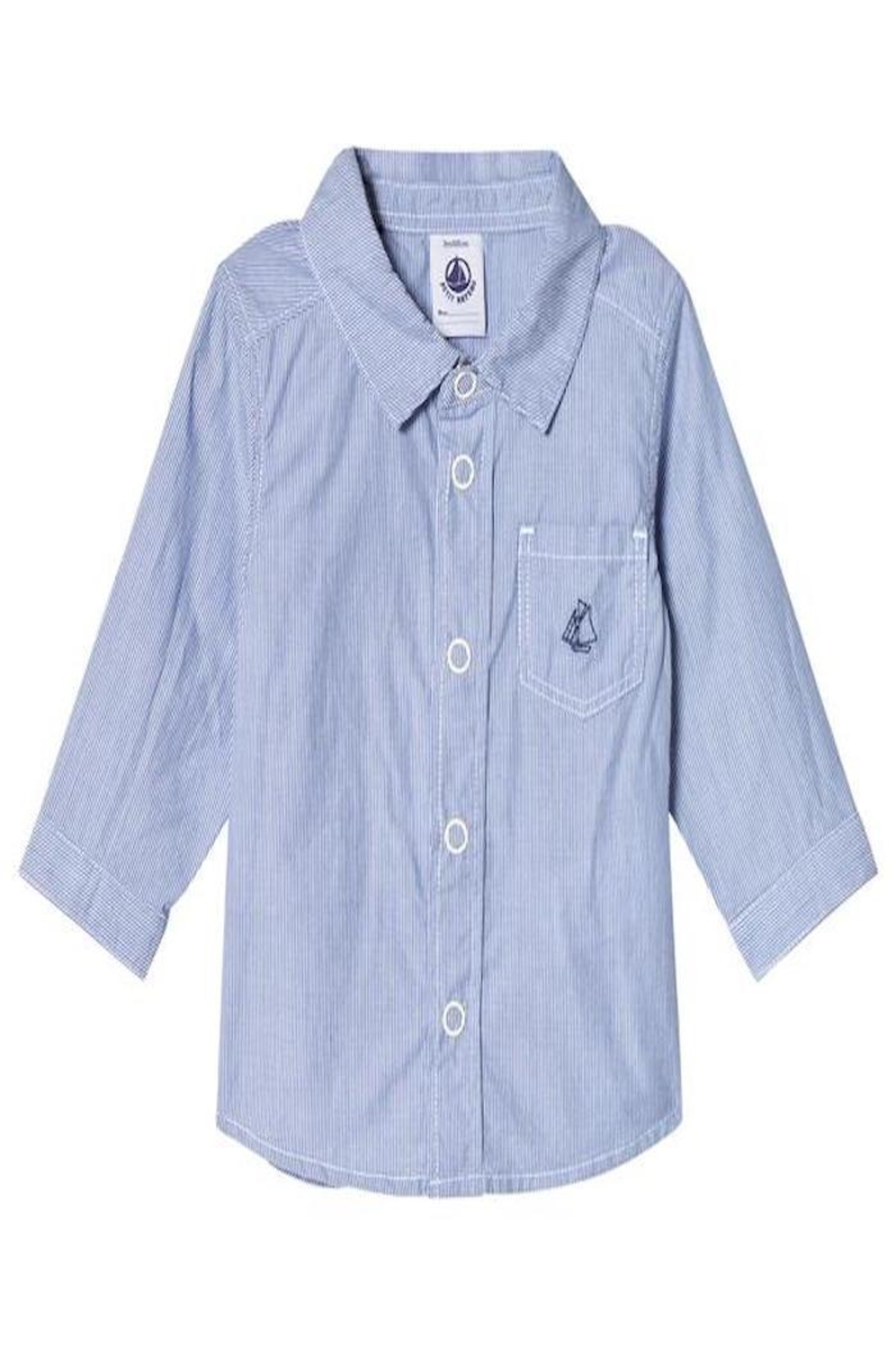 petit bateau Blue Dress Shirt - Main Image