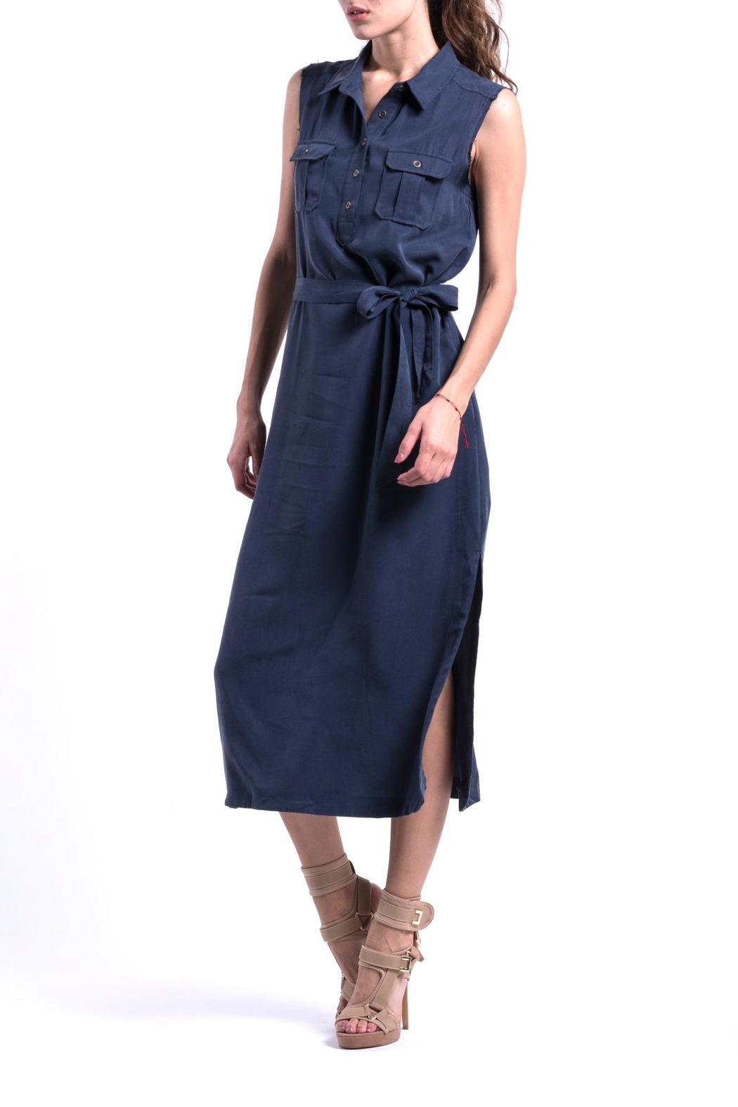 ANA PEREZ Blue Eco Dress - Main Image