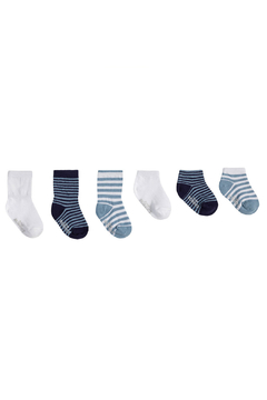 Shoptiques Product: Blue Essentials Socks 6 Pack