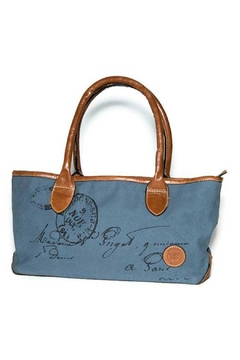Le Papillon Blue Etienne Handbag - Product List Image