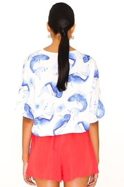 PepaLoves Blue Fish Top - Front full body