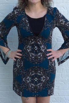 Shoptiques Product: Blue Fitted Dress